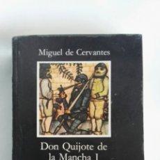 Libros de segunda mano: DON QUIJOTE DE LA MANCHA I CÁTEDRA LETRAS HISPÁNICAS. Lote 171007314