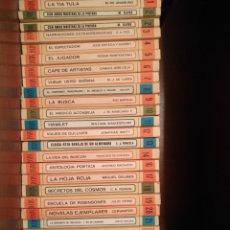 Libros de segunda mano: COLECCIÓN CLÁSICOS LOTE 28 LIBROS. Lote 171069443