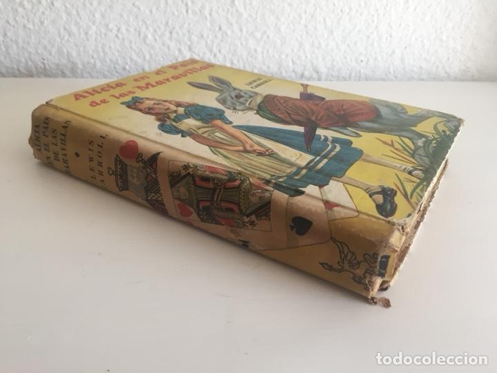 Libros de segunda mano: Alicia en el País de las Maravillas - Lewis Carroll 1949 - RARO EJEMPLAR - Foto 2 - 171083129