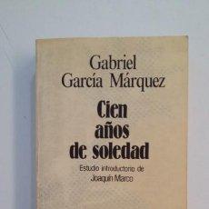 Libros de segunda mano: CIEN AÑOS DE SOLEDAD. GABRIEL GARCIA MARQUEZ. SELECCIONES AUSTRAL. TDK395. Lote 171384320