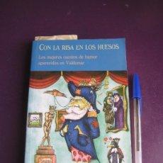 Libros de segunda mano: CON LA RISA EN LOS LABIOS - RECOP RELATOS HUMOR VALDEMAR - LEWIS CARROLL - DICKENS - BIERCE - TWAIN . Lote 171387968
