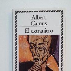 Libros de segunda mano: EL EXTRANJERO. ALBERT CAMUS. BIBLIOTECA DE PLATA. CIRCULO DE LECTORES. TDK394. Lote 171402673