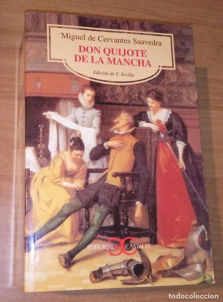 MIGUEL DE CERVANTES - DON QUIJOTE DE LA MANCHA - CASTALIA, 2000 [EDICIÓN DIDÁCTICA] (Libros de Segunda Mano (posteriores a 1936) - Literatura - Narrativa - Clásicos)