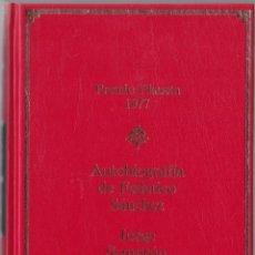 Libros de segunda mano: PREMIO PLANETA 1977 - AUTOBIOGRAFIA DE FEDERICO SANCHEZ - JORGE SEMPRUN. Lote 171483794