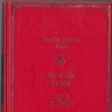 Libros de segunda mano: PREMIO PLANETA 1976 - EN EL DIA DE HOY - JESUS TORBADO. Lote 171484038