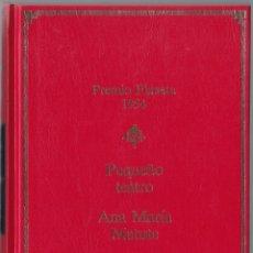 Libros de segunda mano: PREMIO PLANETA 1954 - PEQUEÑO TEATRO - ANA MARIA MATUTE. Lote 171485628