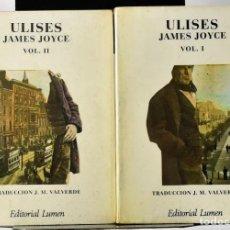 Libros de segunda mano: ULISES. JOYCE, JAMES. 2 VOLÚMENES. Lote 171592430