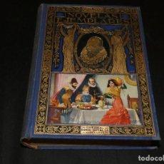 Libros de segunda mano: NOVELAS EJEMPLARES BIBLIOTECA HISPANIA 1935 MUY BUEN ESTADO 16 GRABADOS 14 CROMOTIPIAS 1 KG . Lote 171653399
