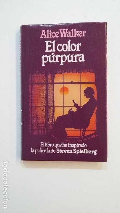 EL COLOR PURPURA. - ALICE WALKER. TDK391 (Libros de Segunda Mano (posteriores a 1936) - Literatura - Narrativa - Clásicos)