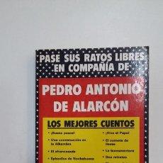 Libros de segunda mano: PASE SUS RATOS LIBRES EN COMPAÑIA DE PEDRO ANTONIO DE ALARCON. EDICIONES RIONEGRO. TDK391. Lote 171732632