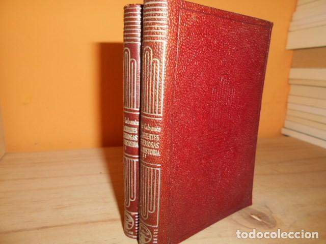 AGUILAR- CRISOL Nº 337 Y 338 / LAS MUERTES MISTERIOSAS DE LA HISTORIA / DOCTOR CABANES (Libros de Segunda Mano (posteriores a 1936) - Literatura - Narrativa - Clásicos)