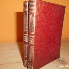Libros de segunda mano: AGUILAR- CRISOL Nº 337 Y 338 / LAS MUERTES MISTERIOSAS DE LA HISTORIA / DOCTOR CABANES. Lote 171782920