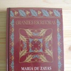 Libros de segunda mano: LIBRO NOVELAS MARIA ZAYA - COLECCIÓN GRANDES ESCRITORAS - TAPA DURA. Lote 171784793