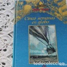 Libros de segunda mano: CINCO SEMANAS EN GLOBO. Lote 171792009