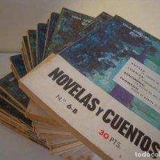 Libros de segunda mano: LOTE 21 TOMOS REVISTA LITERARIA NOVELAS Y CUENTOS SERIE ESPECIAL . Lote 172007950