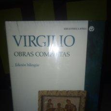 Libros de segunda mano: VIRGILIO OBRAS COMPLETAS BIBLIOTHECA AVREA CÁTEDRA. Lote 172121148