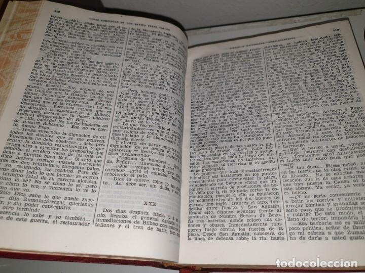 Libros de segunda mano: BENITO PÉREZ GALDÓS, OBRAS COMPLETAS EPISODIOS NACIONADLES. M. AGUILAR EDITOR - Foto 5 - 172618355