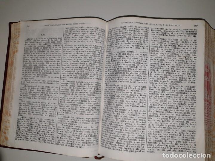 Libros de segunda mano: BENITO PÉREZ GALDÓS, OBRAS COMPLETAS EPISODIOS NACIONADLES. M. AGUILAR EDITOR - Foto 8 - 172618355