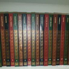 Libros de segunda mano: LOS GIGANTES DE LA LITERATURA UNIVERSAL. 20 LIBROS. Lote 172920859