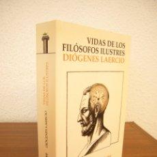 Libros de segunda mano: DIÓGENES LAERCIO: VIDAS Y OPINIONES DE LOS FILÓSOFOS ILUSTRES (ALIANZA, 2007) EXCELENTE ESTADO. Lote 173456597