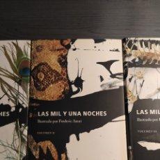 Libros de segunda mano: LAS MIL Y UNA NOCHES. ILUSTRADO POR FREDERIC AMAT. . Lote 173492129