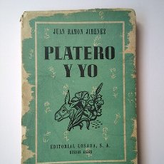Libros de segunda mano: JUAN RAMÓN JIMÉNEZ · PLATERO Y YO. ILUSTRACIONES ATTILIO ROSSI. LOSADA, BUENOS AIRES, 1941. Lote 173595398