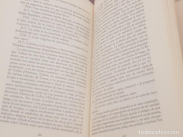 Libros de segunda mano: LIBRO UNA CARRERA REVOLUCIONARIA / FREDERIC TUTEN TALLIEN / ED. MONDADORI 1989. - Foto 5 - 173641647