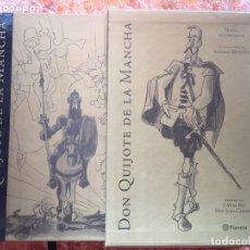 Libros de segunda mano: DON QUIJOTE DE LA MANCHA. ILUSTRADO POR ANTONIO MINGOTE (2005) + ESTUCHE. Lote 173719797