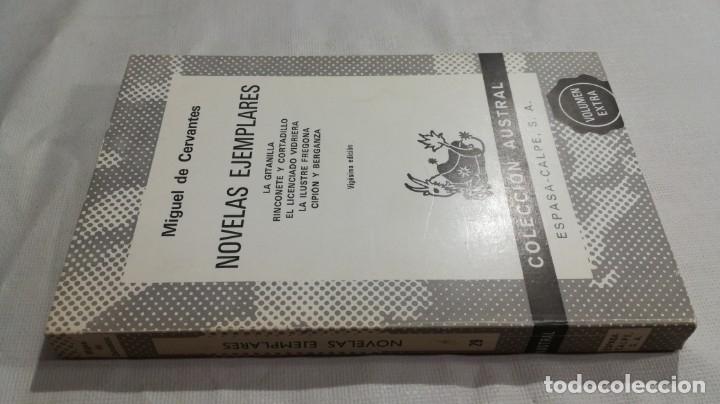 NOVELAS EJEMPLARES - MIGUEL DE CERVANTES/ AUSTRAL/ D101 (Libros de Segunda Mano (posteriores a 1936) - Literatura - Narrativa - Clásicos)