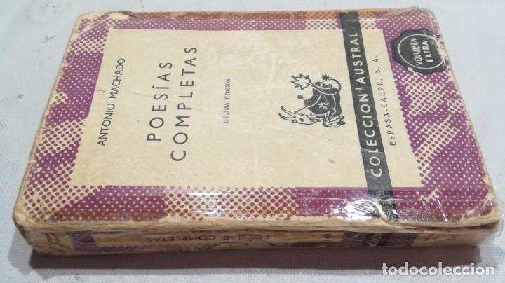 POESIAS COMPLETAS - ANTONIO MACHADO/ AUSTRAL/ D402 (Libros de Segunda Mano (posteriores a 1936) - Literatura - Narrativa - Clásicos)