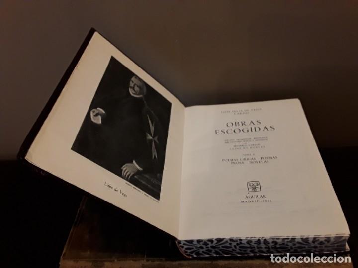 LOPE DE VEGA OBRAS ESCOGIDAS TOMO II AGUILAR 1961 (Libros de Segunda Mano (posteriores a 1936) - Literatura - Narrativa - Clásicos)