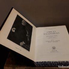 Libros de segunda mano: LOPE DE VEGA OBRAS ESCOGIDAS TOMO II AGUILAR 1961. Lote 173927064