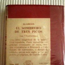 Libros de segunda mano: EL SOMBRERO DE TRES PICOS (ALARCÓN) CRISOLÍN 033. 1971. PRECINTADO DE ORIGEN. Lote 192289260