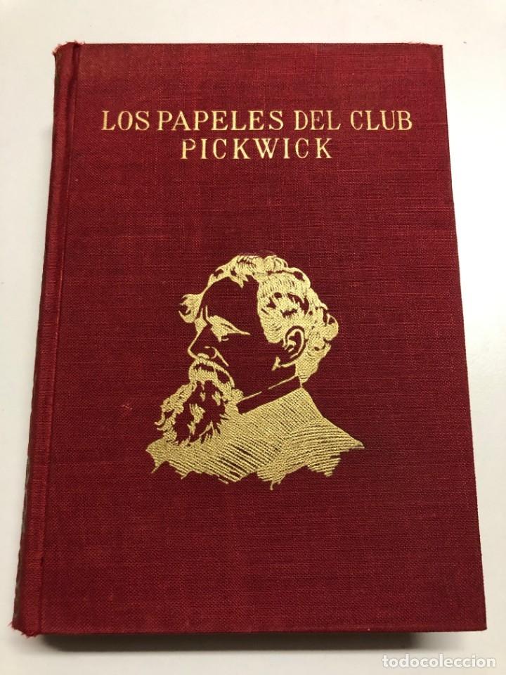 CARLOS DICKENS. LOS PAPELES DEL CLUB PICKWICK. 1966 (Libros de Segunda Mano (posteriores a 1936) - Literatura - Narrativa - Clásicos)