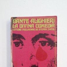 Libros de segunda mano: LA DIVINA COMEDIA. DANTE ALIGHIERI. TDK400. Lote 174064745