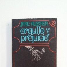 Libros de segunda mano: ORGULLO Y PREJUICIO. JANE AUSTEN. EDITORIAL JUVENTUD. TDK400. Lote 174064785
