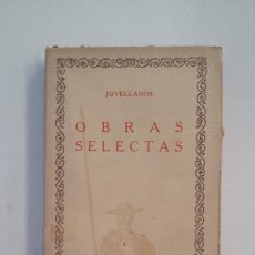 Libros de segunda mano: JOVELLANOS. OBRAS SELECTAS. LAS CIEN MEJORES OBRAS DE LA LITERATURA ESPAÑOLA Nº 29. TDK402. Lote 174150193