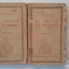Libros de segunda mano: EL SEÑOR DE BEMBIBRE. TOMO PRIMERO Y SEGUNDO. CIEN MEJORES OBRAS DE LA LITERATURA ESPAÑOLA TDK402. Lote 174150609