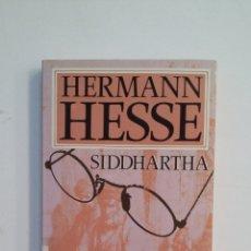 Libros de segunda mano: SIDDHARTA. HERMANN HESSE. PLAZA JANES. TDK412. Lote 174573388