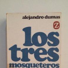 Libros de segunda mano: LOS TRES MOSQUETEROS. ALEJANDRO DUMAS. EDITORIAL JUVENTUD. TDK412. Lote 174862243