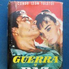 Libros de segunda mano: GUERRA Y PAZ. Lote 174867860