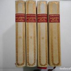 Libros de segunda mano: EL INGENIOSO HIDALGO DON QUIJOTE DE LA MANCHA (4 TOMOS) Y95734. Lote 175044838