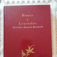 Libros de segunda mano: RIMAS Y LEYENDAS - GUSTAVO ADOLFO BÉCQUER - CLÁSICOS DE LA LITERATURA ESPAÑOLA. Lote 175133909
