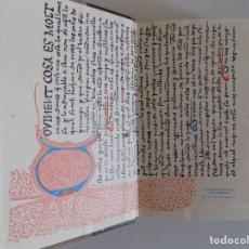 Libros de segunda mano: LIBRERIA GHOTICA. BELLA EDICIÓN CATALANA DEL DECAMERON DE BOCACCIO SEGUN MANUSCRITO DE 1429.1964. Lote 175185625