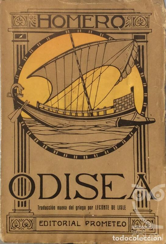 ODISEA - HOMERO (Libros de Segunda Mano (posteriores a 1936) - Literatura - Narrativa - Clásicos)