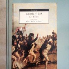 Libros de segunda mano: GUERRA Y PAZ. Lote 175517844