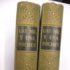 Libros de segunda mano: LAS MIL Y UNA NOCHES / GUSTAVO WEIL - MONTANER Y SIMÓN BARCELONA 1955 1 2 DOS TOMOS ILUSTRACIONES. Lote 175561269