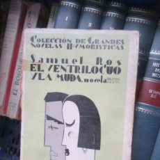 Livros em segunda mão: EL VENTRÍLOCUO Y LA MUDA, SAMUEL ROS. L.2604-757 . Lote 175652622
