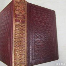 Libros de segunda mano: PIO BAROJA - OBRAS COMPLETAS TOMO I - EDI BIBLIOTECA NUEVA MADRID 1978 + INFO . Lote 84344444