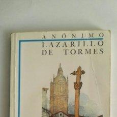 Libros de segunda mano: LAZARILLO DE TORMES. Lote 175820205
